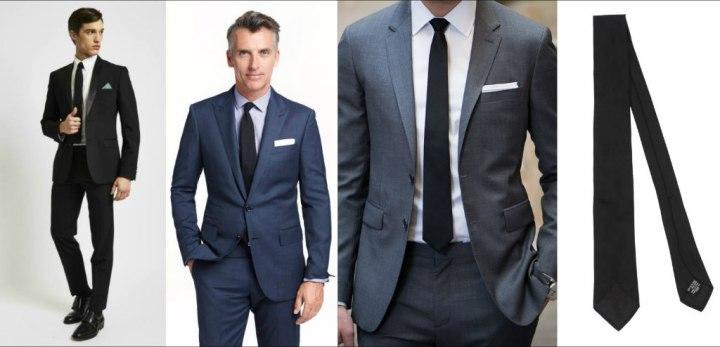 ربطة العنق السوداء