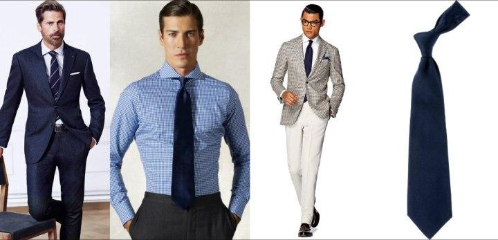 ربطة العنق الزرقاء
