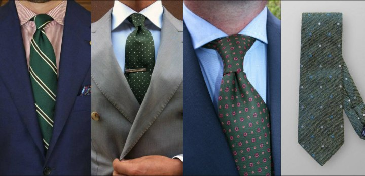 ربطة العنق الخضراء