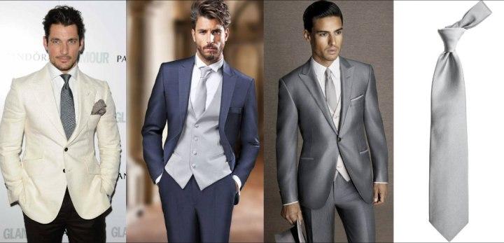 ربطة العنق الرمادية