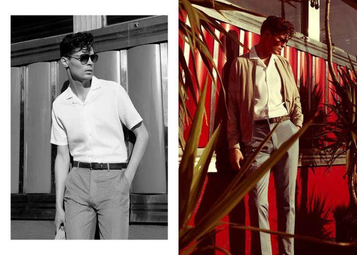 كيف تلبس الـ Cuban Collar Shirt لإطلالات صيفيةمتنوعة