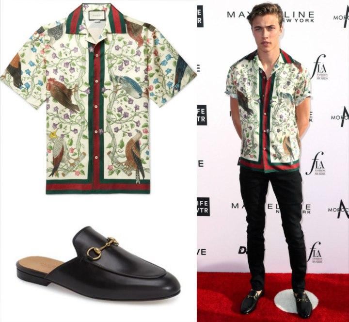 Gucci Cuban Collar Shirt