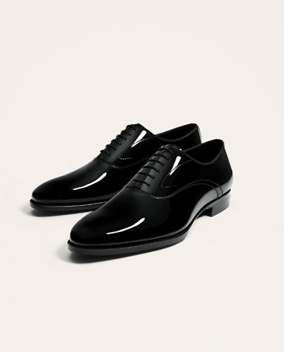حذاء اكسفورد اسود
