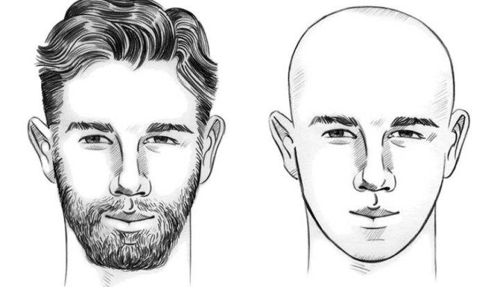 الوجه المثلث
