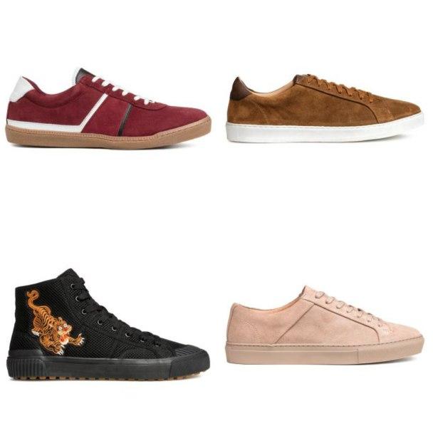 الأحذية الرياضية المسطحة