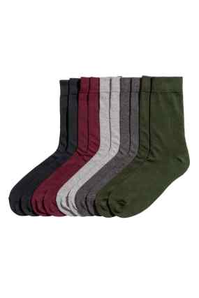 جوارب ملونة من H&M