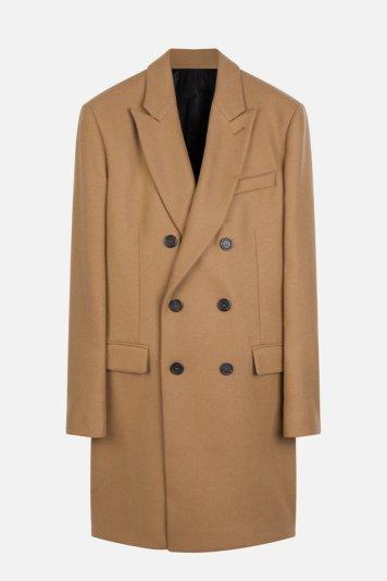 معطف بلون وبر الجمل من Ami