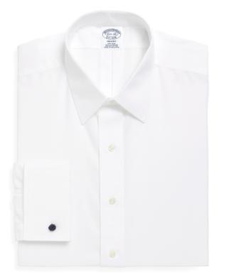 قميص كلاسيكي أبيض من Brooks brothers