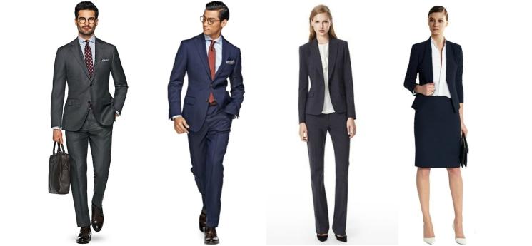 Business look dress code
