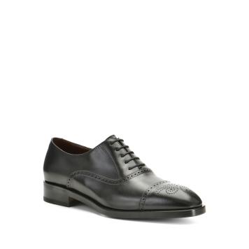 حذاء أكسفورد أسود من Fratelli Rossetti