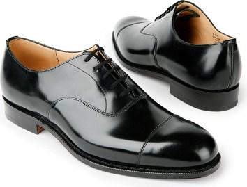 حذاء Oxford أسود