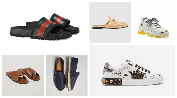 إتجاهات موضة أحذية صيف2018