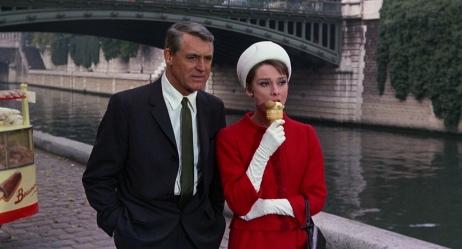 من فيلم Charade) 1963) مع النجمة أودري هيبرون