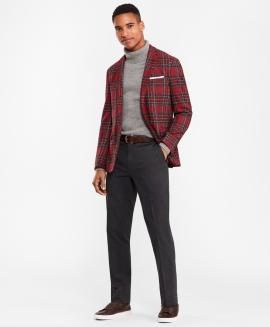 Tartan sport coat